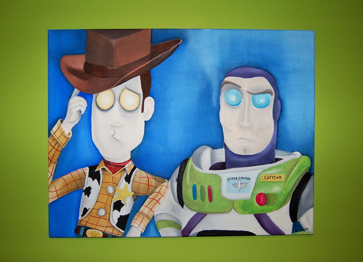 kb-peinture-buzz-lightear-woody-karine-bujold-contexte-septembre-12