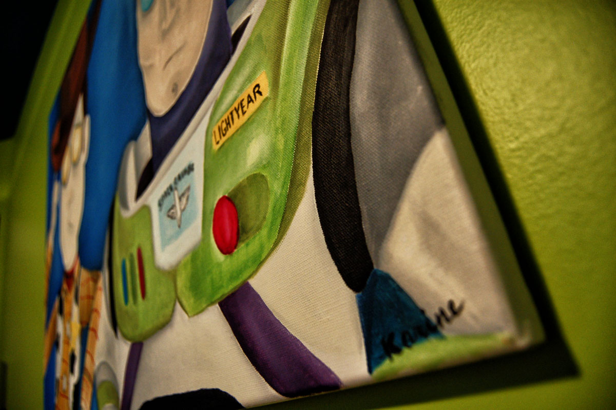 kb-peinture-buzz-lightear-woody-karine-bujold-zoom-septembre-12