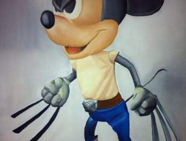 Mashup Mickey Mouse & Wolverine