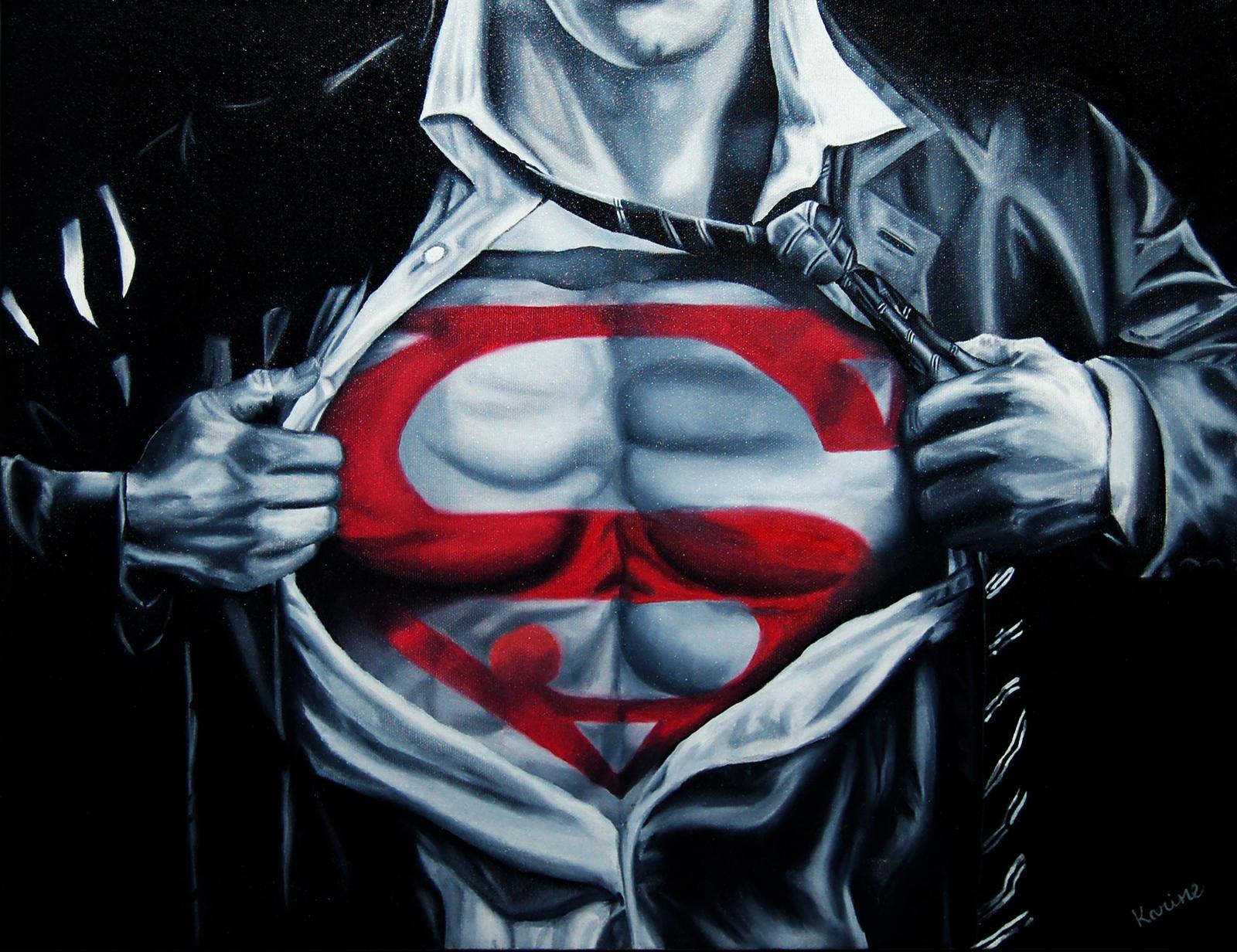 Peinture Supergrey - Superman