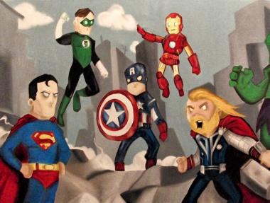Ligue des Justiciers vs Avengers