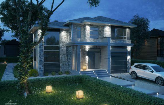 zone sismique projets construction salette maison