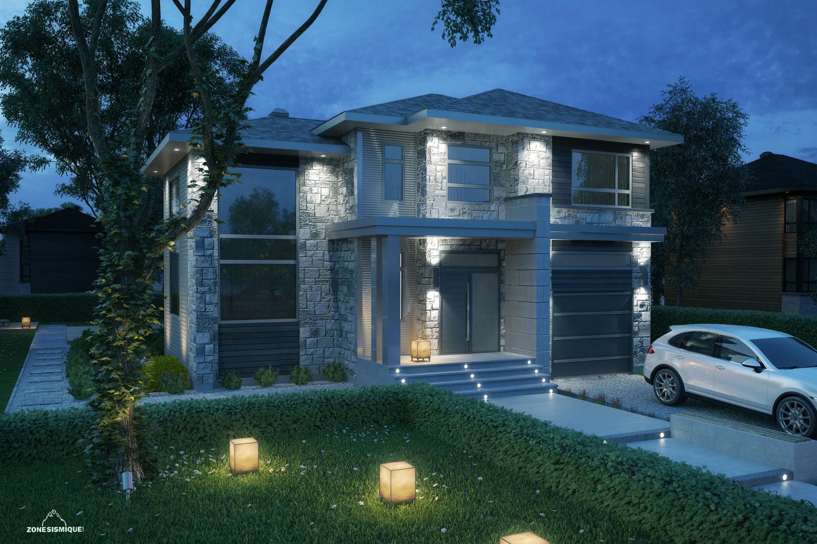 zone-sismique-construction-salette-maison-moderne-3d-Hajame ...