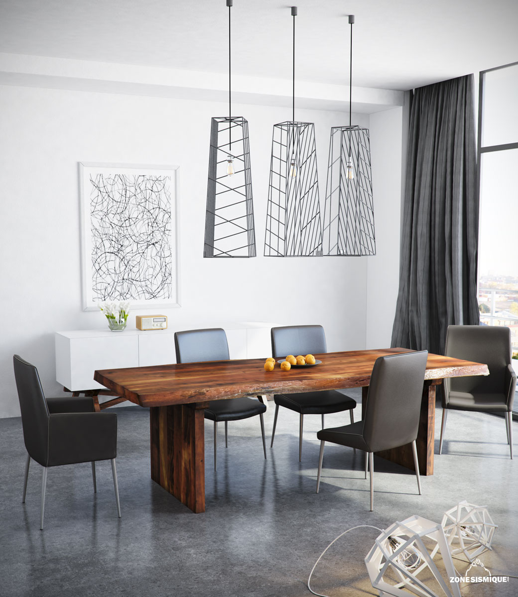 Zone sismique colibri lifestyle salle a manger micheal 3d for Salle a manger 3d