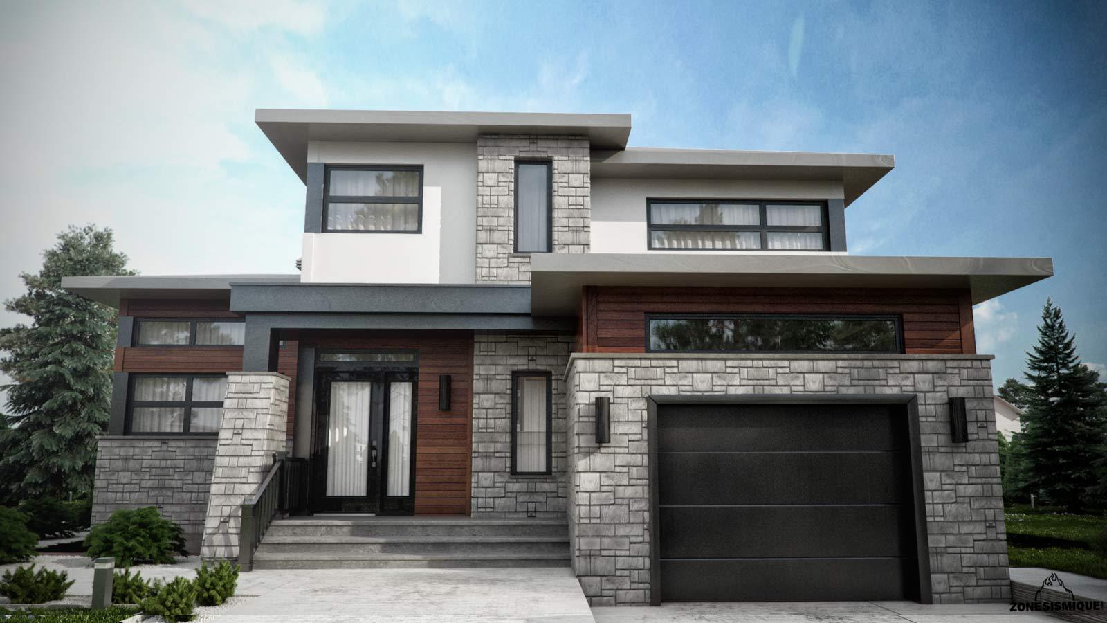 Image De Maison Moderne zone-sismique-habitation-malie-maison-moderne-3d-des-simes