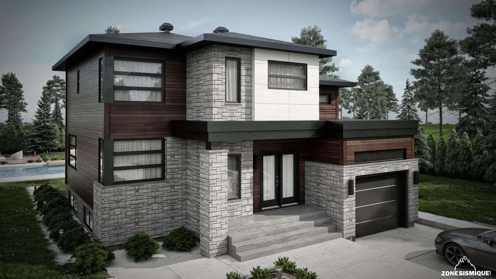 zone-sismique-habitation-malie-maison-moderne-3d-modele-2-v1 - _- ...