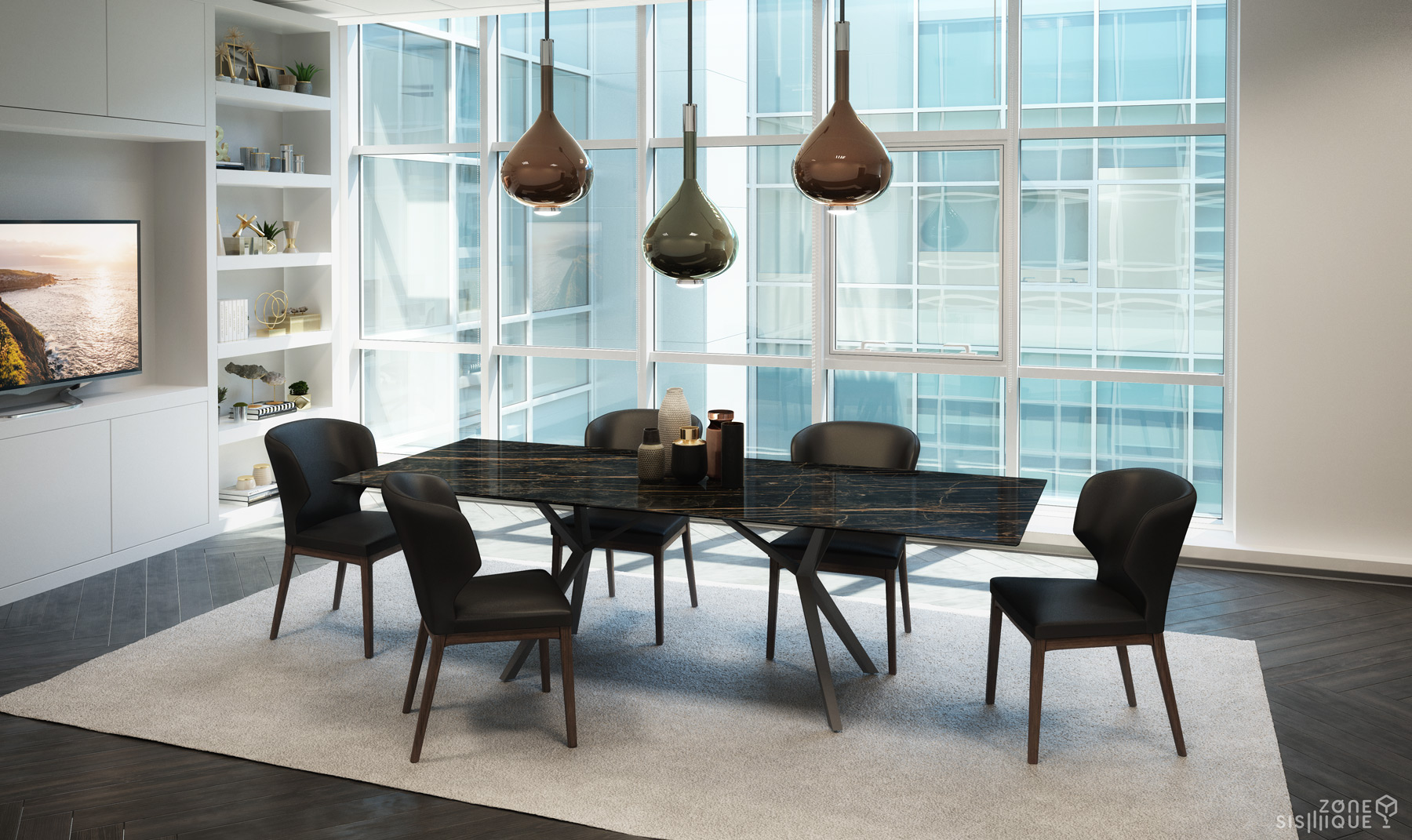Table A Manger Chaise.Zone Sismique Colibri Lifestyle Salle A Manger Table Urby